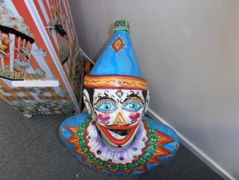 "Luna Park Hand Made Clown ""Curly"""