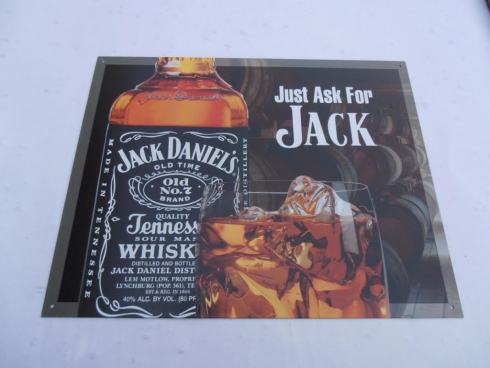 Jack Daniels Classic Advertising Sign