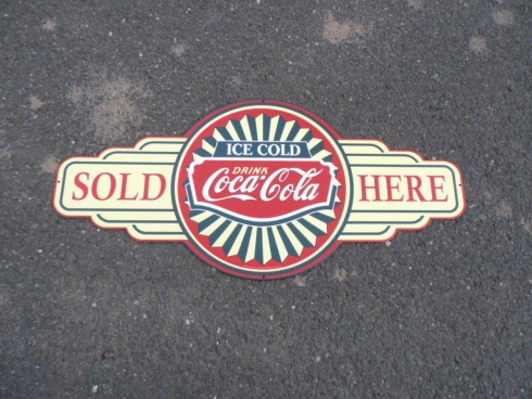 Coca Cola Sold Here Bowtie