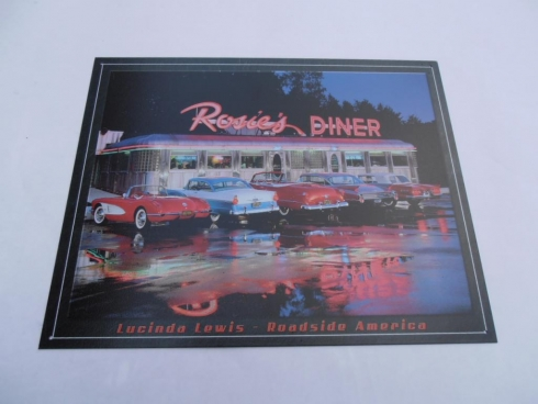 Rosies Diner Retro Tin Sign
