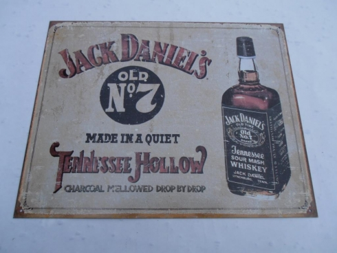 Jack Daniels Tennessee Hollow Advertising Sign