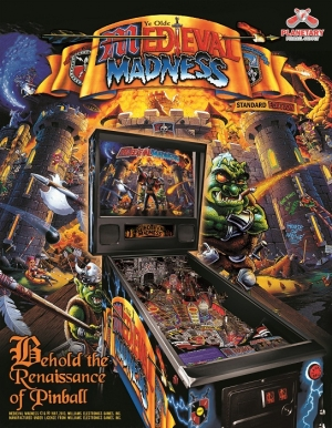 Medieval Madness Pinball Machine
