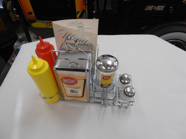 Full Diner Table Accessories Set